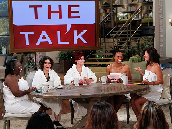 Sharon Osbourne, Julie Chen Go Without Makeup on The Talk
