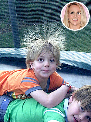 Britney Spears Throws Birthday Party for Sons Preston & Jayden