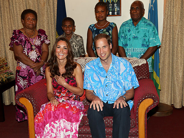 Prince William & Kate 'Very Important' to Solomon Islands