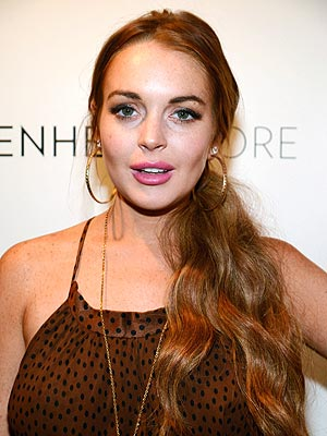 Lindsay Lohan Hospitalized Briefly for Asthma: Rep
