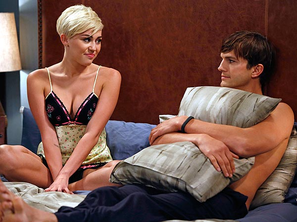 Miley Cyrus Guest Starring on Two and a Half Men