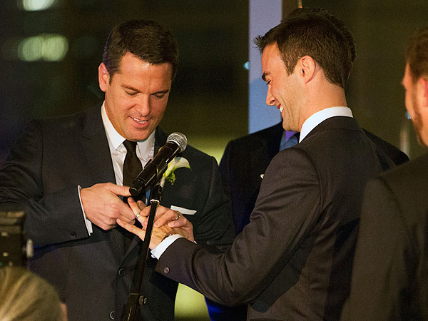 Thomas Roberts Marries Patrick Abner; MSNBC Host Weds Longtime Partner