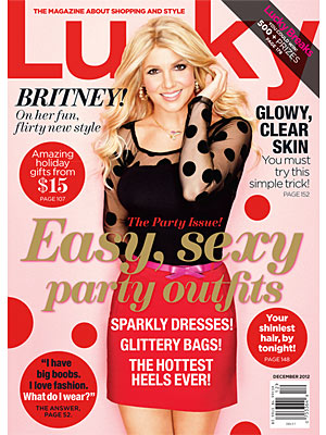 Britney Spears on Lucky: My Kids Think I'm a Superhero