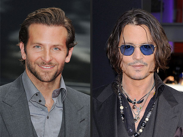 Bradley Cooper, Johnny Depp Sign On for Hot New Roles