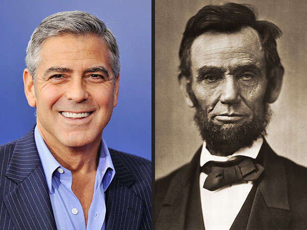 George Clooney Distantly Related to Abraham Lincoln