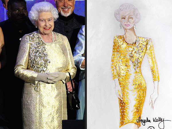 Queen Elizabeth's Designer Angela Kelly Reveals What It's Like to Dress the Royal