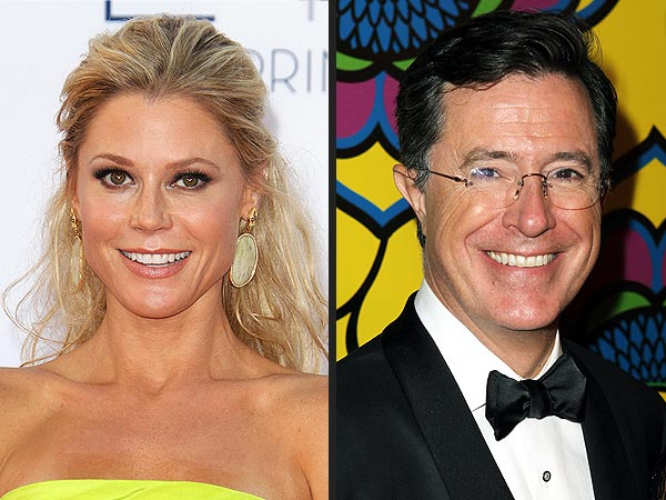 Julie Bowen Picks Stephen Colbert as the Sexiest Man Alive