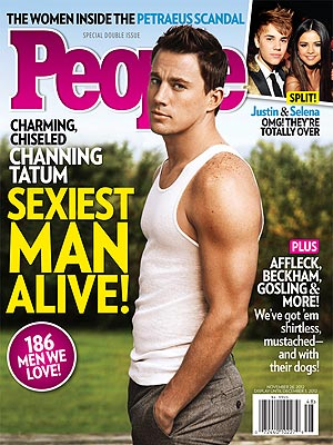 Channing Tatum Is Sexiest Man Alive 2012