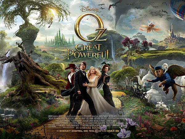 Oz The Great and Powerful Trailer Released