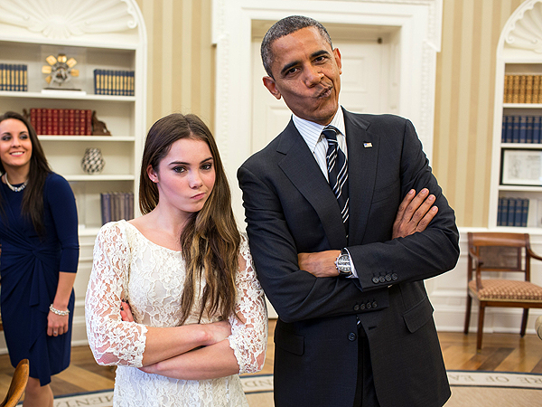 Barack Obama, McKayla Maroney Are Not Impressed