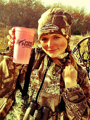 Miranda Lambert Channels Katniss on a Thanksgiving Hunting Spree