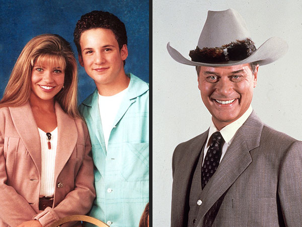 Larry Hagman, Boy Meets World Re-Boot Get Top Reactions This Week