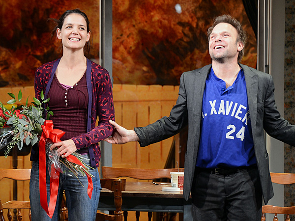 Katie Holmes Review in Dead Accounts on Broadway