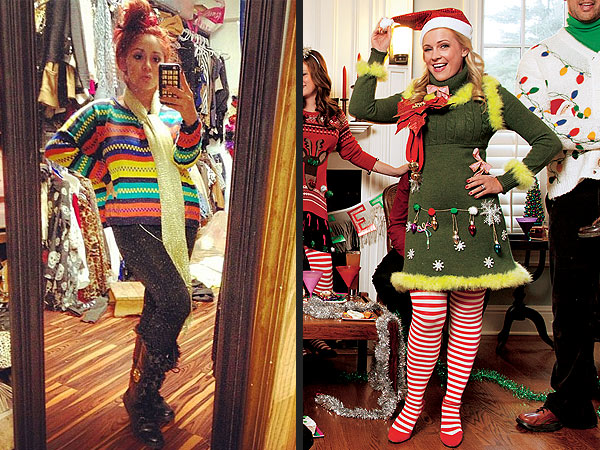 Melissa Joan Hart, Snooki - Ugly Christmas Sweaters