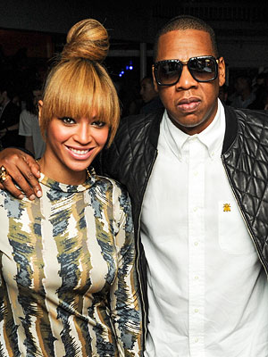 Beyonc&#233;, Jay Z, Diddy Party with Rico Love in Miami
