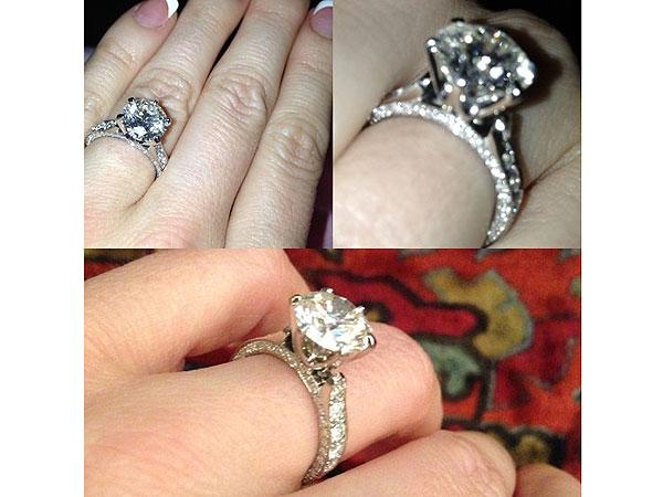 Hugh Hefner - Engagement Ring to Crystal Harris Revealed