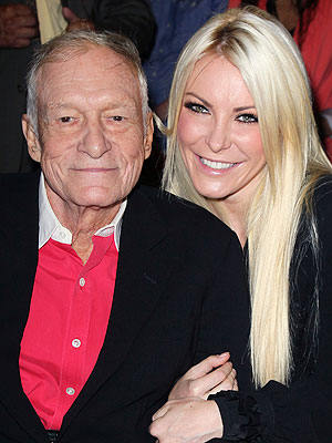 Crystal Harris Talks Gifts for Hugh Hefner's 87th Birthday
