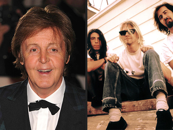12-12-12 Sir Paul McCartney to Lead Nirvana Reunion at Sandy Relief Concert