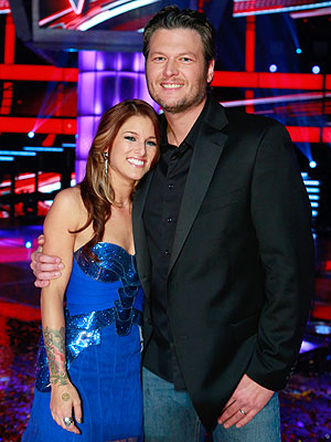 The Voice Winner Is Cassadee Pope from Blake Shelton's Team