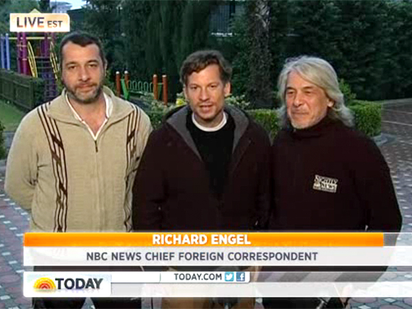 Richard Engel of NBC Returns to Safety After Kidnapping