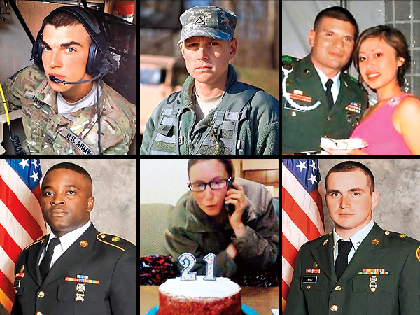 American Soldiers Killed in Afghanistan: Tribute List