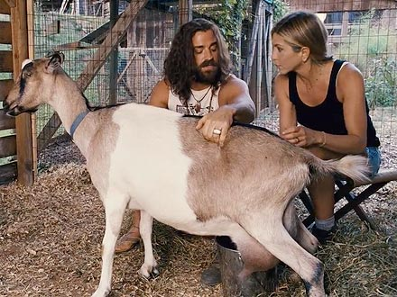 Jennifer Aniston Fell in Love with Wanderlust Goat