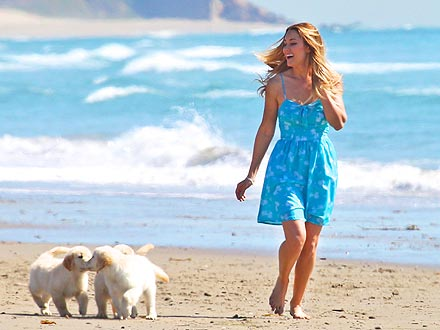 Lauren Conrad: Sun, Sand and Puppies!