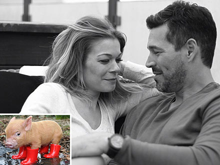 LeAnn Rimes Asks Eddie Cibrian for a Pet Pig