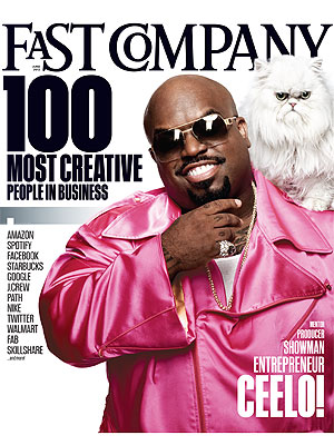 Cee Lo and Purrfect Cover Fast Company
