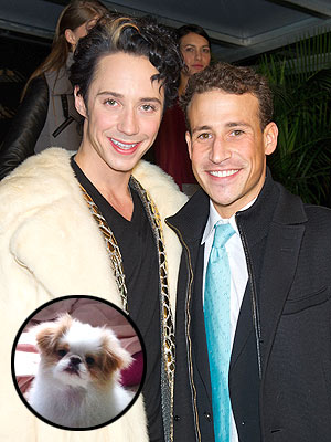 Johnny Weir's Dog Is Not Allowed to See Him Naked