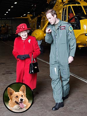 Prince William Questions the Queen's Noisy Dogs