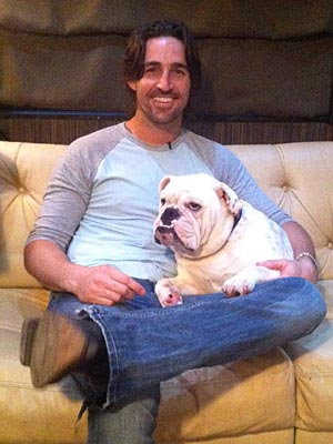 Jake Owen's Tour Bus Staple: Sleepy Dog Merle