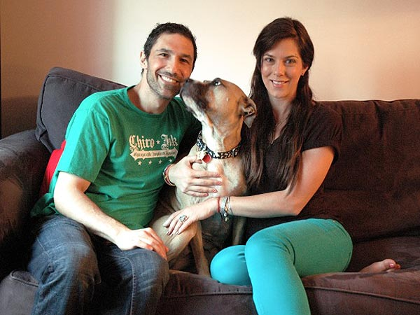 Ethan Zohn, Jenna Morasca Adopt Dog