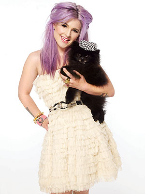 Kelly Osbourne Gets Glam with Dog Sid in Maniac Magazine
