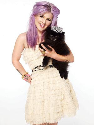Kelly Osbourne Gets Glam with Dog Sid in Maniac Magazine