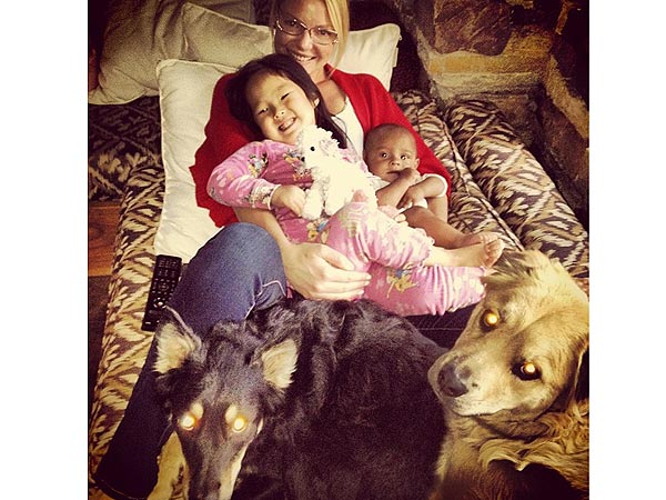 Katherine Heigl Talks Daughters Naleigh, Adalaide and Dogs