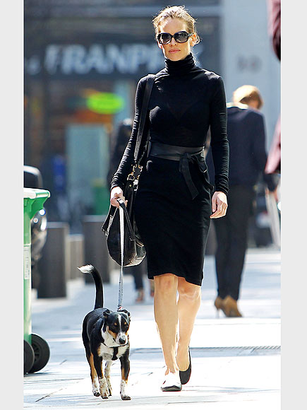 Stars and Their Pets: Hilary Swank's Parisian Pooch