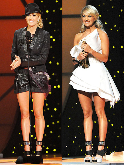 Carrie Underwood's Most Memorable CMA Outfits