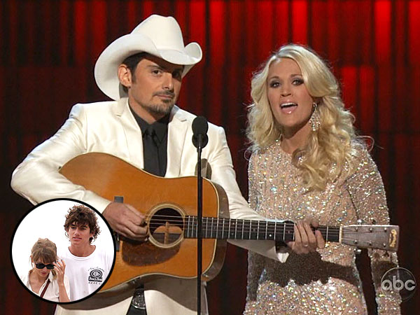 Country Music Association Awards - Carrie Underwood, Brad Paisley Host