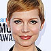 17 Winning Looks from the 2012 Critics' Choice Movie Awards | Michelle Williams
