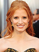 10 Best Beauty Looks of Awards Season 2012 | Jessica Chastain