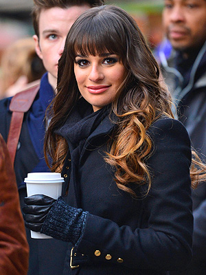 Star Tracks: Star Tracks: Monday, November 19, 2012 | Lea Michele
