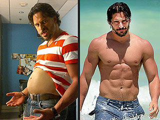 Joe Manganiello Shows Off His Beer Gut