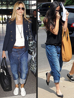 Demi Moore Steals Jennifer Aniston's Baggy Jeans