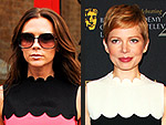 Fashion Faceoff | Michelle Williams, Victoria Beckham