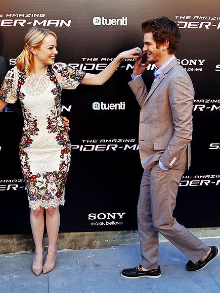 Emma Stone & Andrew Garfield: Stylish and Smitten