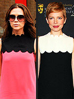 Designer in Demand: Victoria Beckham&#39;s Biggest Fans | Michelle Williams