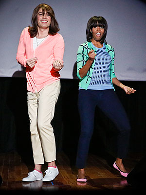 Michelle Obama, Jimmy Fallon: Evolution of Mom Dancing
