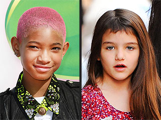 Star Kids' Cute & Quirky Hairdos | Suri Cruise