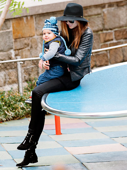 Runway Ready: Miranda Kerr & Her Dapper Boy Flynn